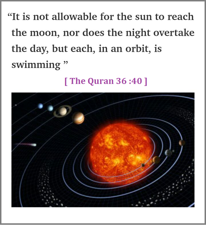 The Sun and The Moon in an Orbit,isSwimming